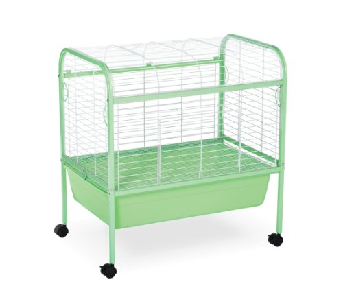 Prevue-Pet-Products-Small-Animal-Cage-with-Stand-320-Green-and-White-29-Inch-by-19-Inch-by-31-Inch