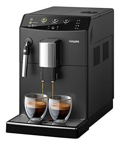 Philips HD8827/01 3000 Serie Kaffeevollautomat, klassischer Milchaufschäumer, schwarz thumbnail