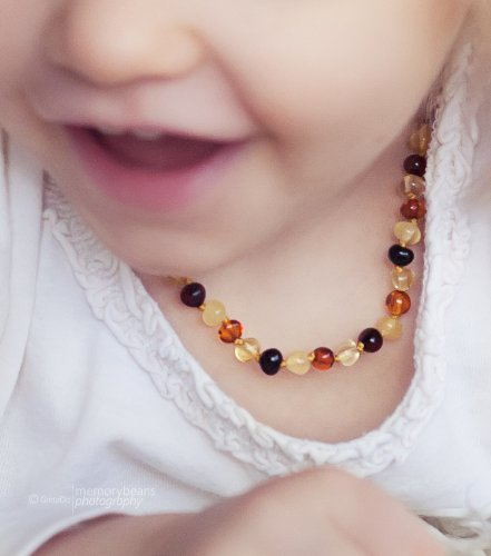Baltic Amber Teething Necklace - 1