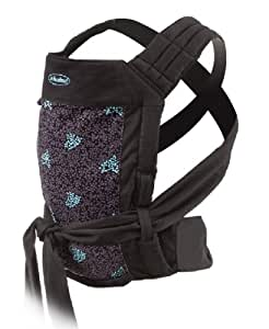 Infantino Wrap and Tie Baby Carrier, Black Blueberries
