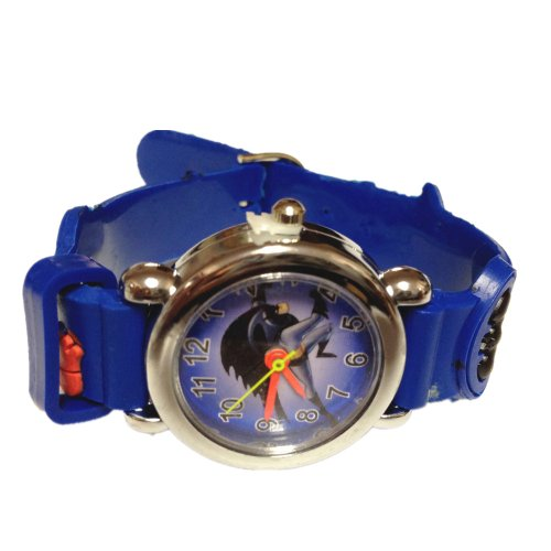 Batman Watch With Jelly Band - Children'S Size (Blue)