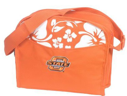 Oklahoma State Cowboys - NCAA Hibiscus Cooler Bag halting state