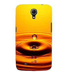 WATER DROP AT SUNSET CAPTURED IN A PIC 3D Hard Polycarbonate Designer Back Case Cover for Samsung Galaxy Mega 6.3 i9200 :: Samsung Galaxy Mega 6.3 i91200
