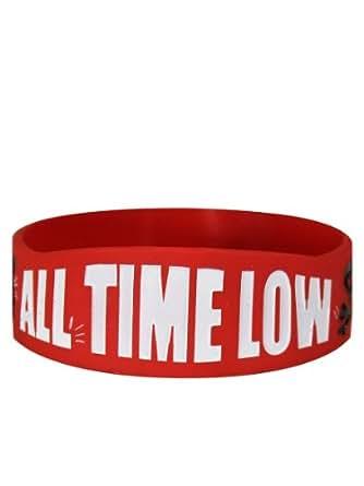 All Time Low A Love Like War Logo officiel nouveau Silcone Poignet Bandeau