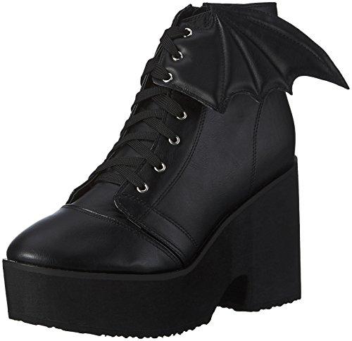 Iron FistBat Wing Boot - Stivali bassi con imbottitura leggera Donna , Nero (Nero (nero)), 40
