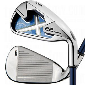 Right Hand Callaway Ladies X-22 Irons