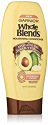 Garnier Whole Blends Nourishing Conditioner, Avocado Oil & Shea Butter extracts, 12.5 Fluid Ounce