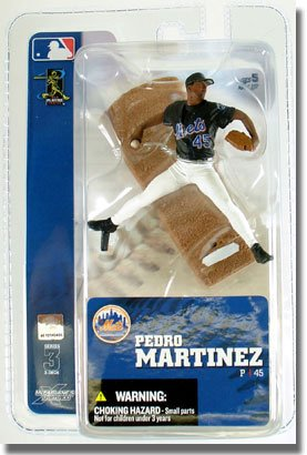 "McFarlane Toys MLB New York Mets Sports Picks 3 Inch Mini Series 3 Pedro Martinez 3"" Mini Figure"