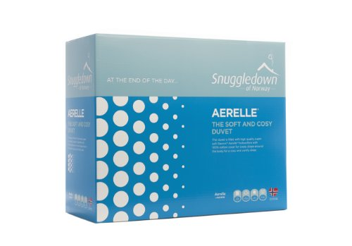 Aerelle Duvet 100% Cotton Cover,Dupont Fibre 13.5 Tog All Seasons Single 135X200Cm
