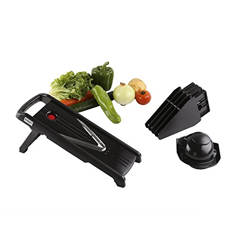 Anybest® 5 in 1 Multifunction V-Slicer Vegetable Fruit Grater (Plastic)