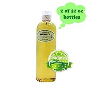 Amazon.com : Rice Bran OIL Organic 100% Pure Cold Pressed