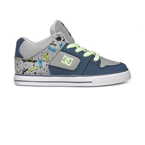 Chaussures Radar Youth DC - Bleu Marine/Gris