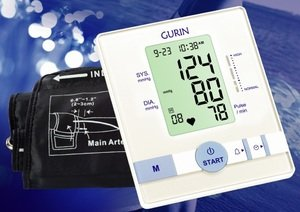 Cheap Automatic Blood Pressure Monitor BP-110 with 9-13 inches Easyfit cuff (BP-110)