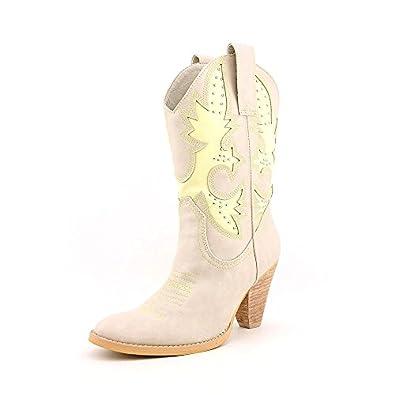 Very Volatile Women's Rio Grande Boot,6 B(M) US,Off white