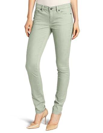 Calvin Klein Jeans Women's Colored Denim Ultimate Skinny Jean, Frosty Green, 4x32