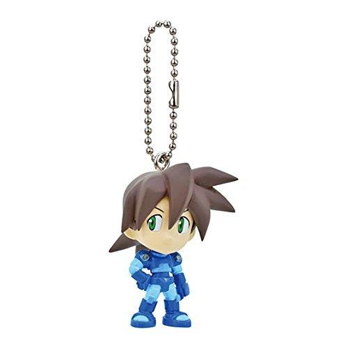 Mega man Rockman Figure Swing Keychain~Rock Volnutt