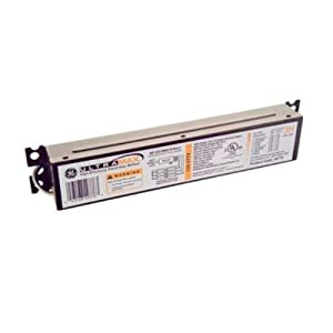 GE Lighting 73190 GE232MAX-H 120/277-Volt UltraMax Electronic Fluorescent T8 Multi-Volt Instant Start Ballast 2 or 1 F32T8 Lamps