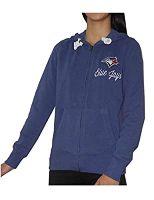 MLB Toronto Blue Jays Womens Athletic Zip-Up Hoodie / Jacket