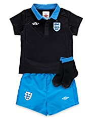3 Piece Official England T-Shirt & Shorts Outfit