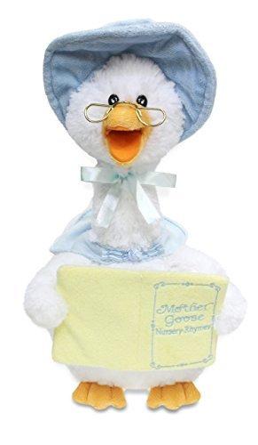 Cuddle Barn Plush Mother Goose 7 Rhyme Blue