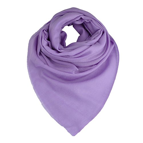 Smartodoors Woven Pashmina Scarf/Shawl/Wrap/Stole for ladies and women in violet blue