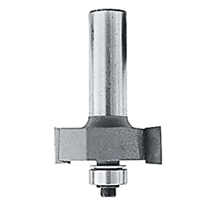 Makita 733124-2A Router Bit 3/8-Inch Rabbet, 2 Cutting Flutes,1/4-Inch Shank H Carbide Tip