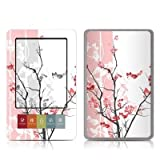 Pink Tranquility Design Protective Decal Skin Sticker for Barnes and Noble NOOK (Black and White LCD) E-Book Reader - High Gloss Coating