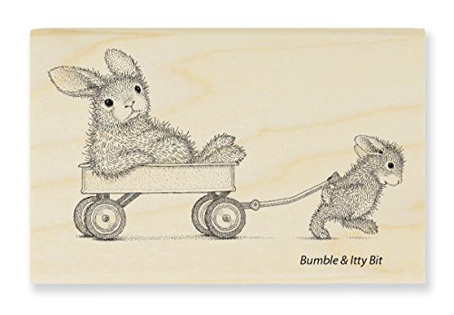 Stampendous Wagon Ride Rubber Stamp