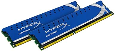 Kingston Technology HyperX 8 GB (2&#215;4 GB Modules) 1600 MHz DDR3 Dual Channel Kit (PC3 12800) 240-Pin SDRAM $62.99
