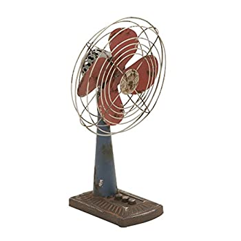 Deco 79 56156 Metal Fan Decor