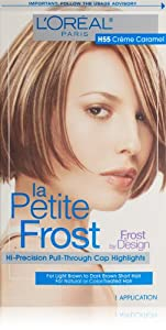 L'Oreal Paris La Petite Frost Hair Color, Creme Caramel