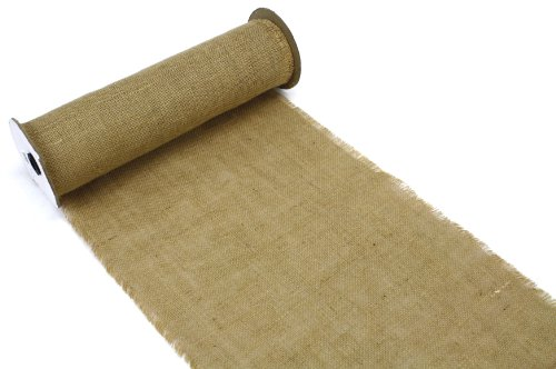 Kel Toy Burlap Roll For Diy Table Runners 14 Inch By 10 Yard