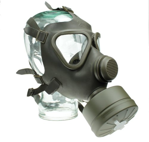 Yantec BW Schutzmaske mit Filter oliv