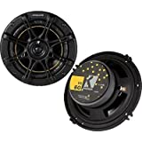 Kicker 11DS60 6.5-inch 2-way Car Audio Speakers (Pair) DS60