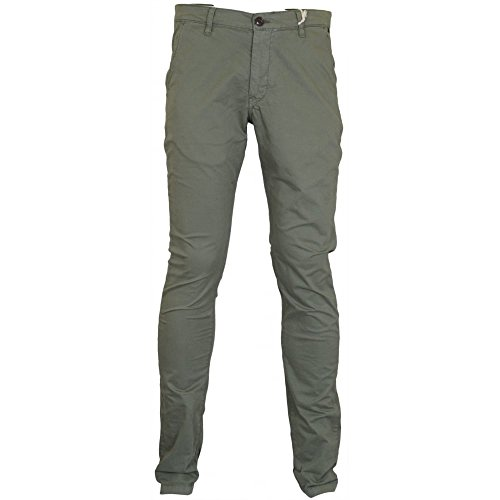 Franklin & Marshall -  Pantaloni  - Uomo Odd Army Green