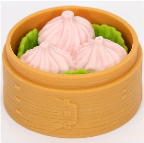 Gomme japonaise Iwako en forme de raviolis chinois