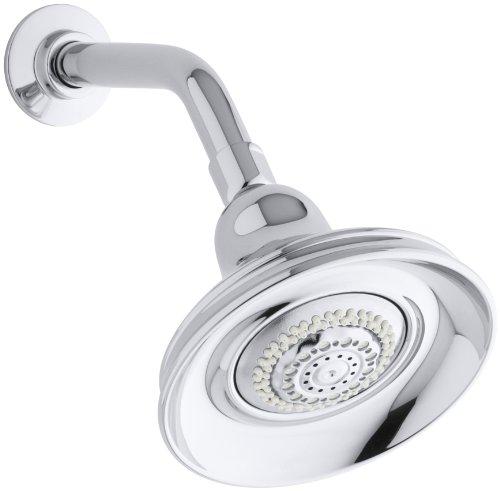 KOHLER K-10591-CP Bancroft Multi-Function Showerhead, Polished Chrome (Kohler Multifunction Shower Head compare prices)