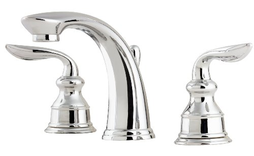 Price Pfister F049CB0C Avalon 8-Inch Widespread Lavatory Faucet, Polished Chrome
