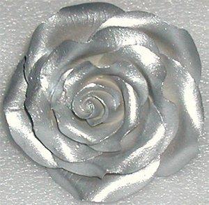 Americolor Amerimist Edible Paint & Airbrush Colour - Silver Sheen - .65 Oz