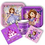 Sofia the First Disney Junior Princess Birthday Party Pack for 8 Guests