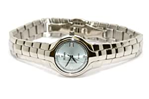 Amazon.com: WOMENS NIVADA SWISS WATCH SILVER STAINLESS