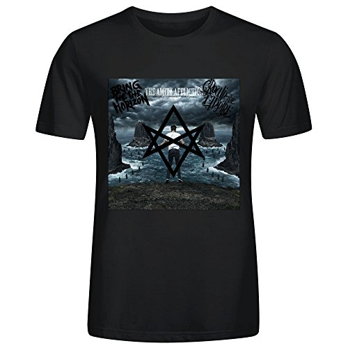Bring Me the Horizon The Amity Affliction Crown the Empire T Shirt Men Black