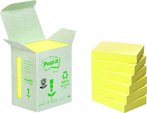 post-it-6531b-haftnotiz-recycling-notes-mini-tower-38-x-51-mm-80-g-qm-100-blatt-6-block-gelb