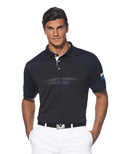 Callaway Men's Athletic Polo with Ventilation