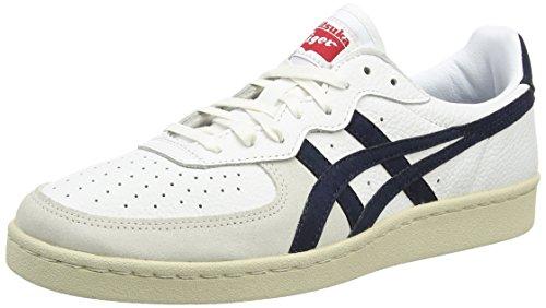 Asics  Gsm,  Unisex Erwachsene Sneakers , Weiß - White (White/Navy 0150) - Größe: 39 EU thumbnail