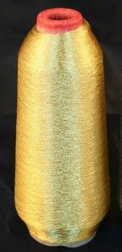 Gold Metallic Machine Embroidery Threads -5000 Yards
