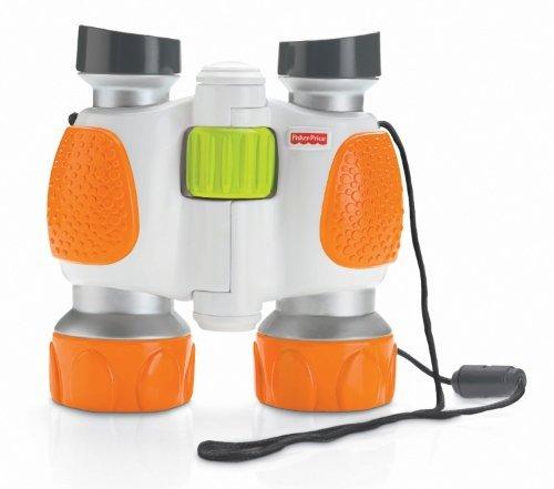 Fisher-Price Kid Tough Explorers Binoculars Customerpackagetype: Frustration-Free Packaging Toy, Kids, Play, Children