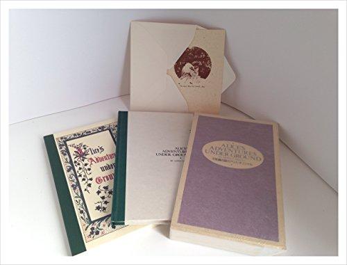 不思議の国のアリス・オリジナル1987年発行/ALICES ADVETURERS UNDER GROUND/LEWUS CARROLL