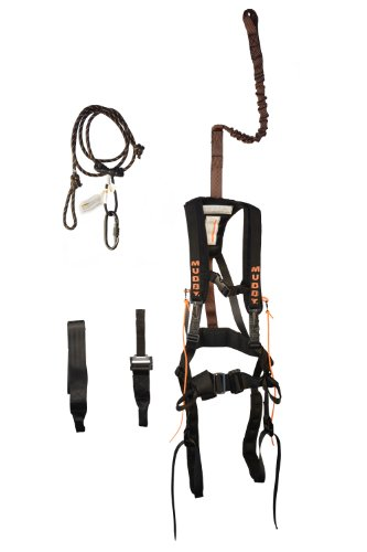 Muddy Outdoors Safeguard Harness, Black (Large)