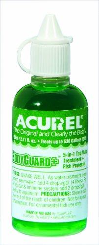 Acurel Llc Bodyguard Plus 50-Ml, Aquarium And Pond Water Treatment, Treats 500-Gallon